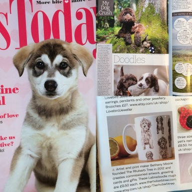 Coverage in Dogs Today Magazine