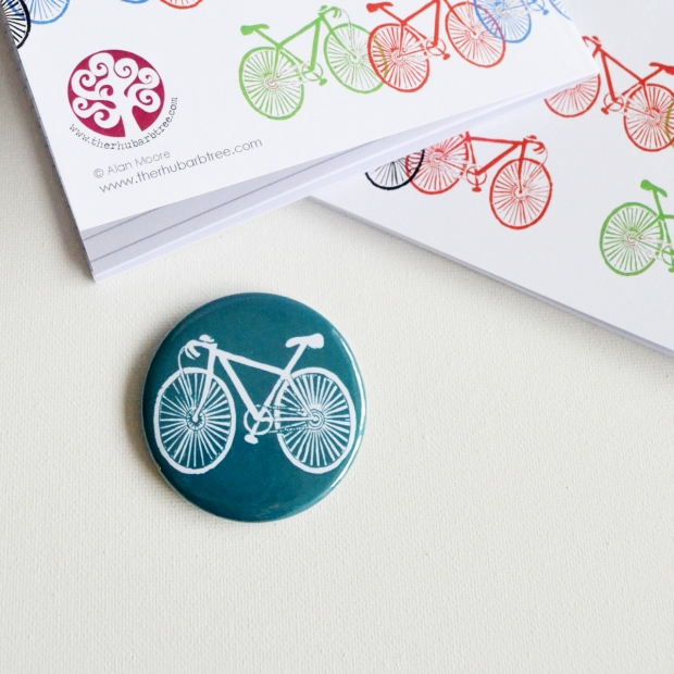 A5 on your bike magnet